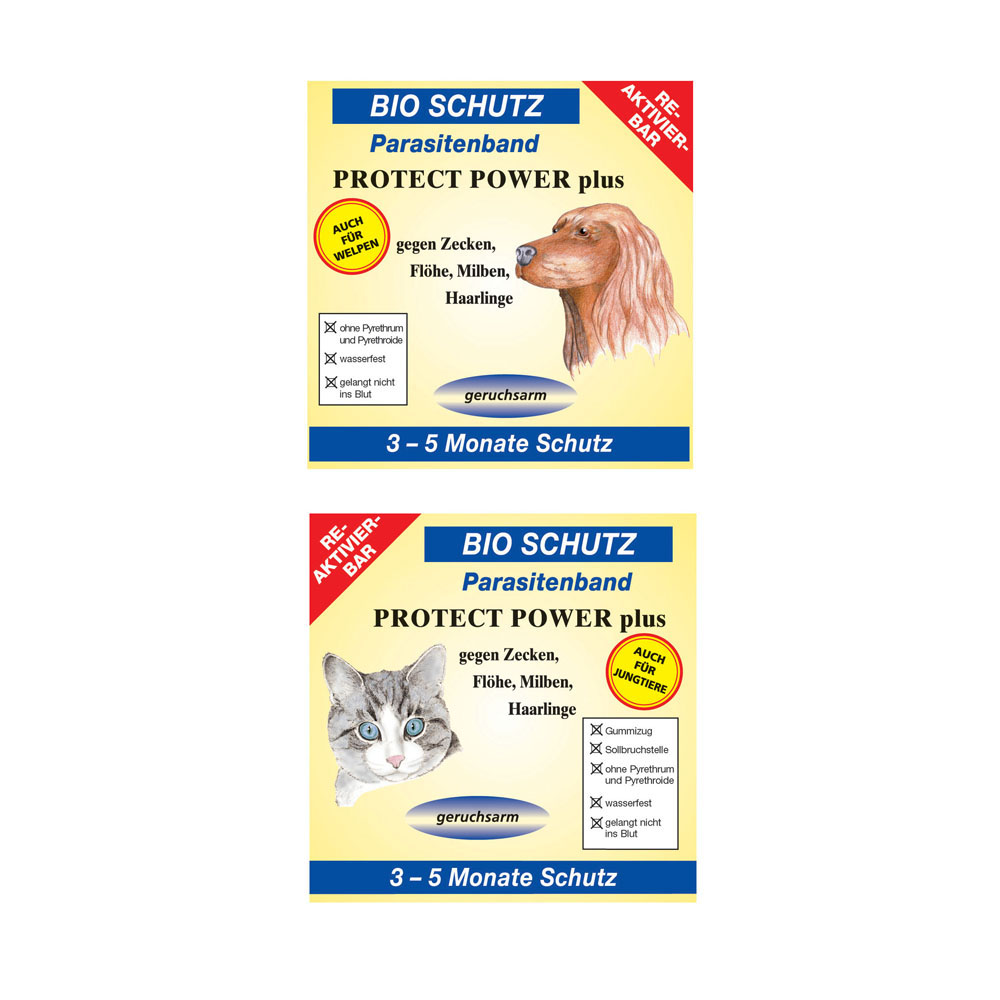 Bio Schutz Parasitenband Protect Power Plus