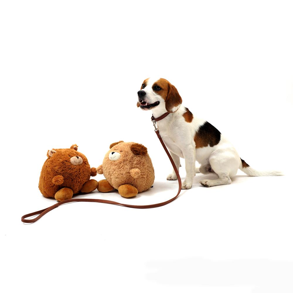 PLÜSCHBALL Hund/Bär