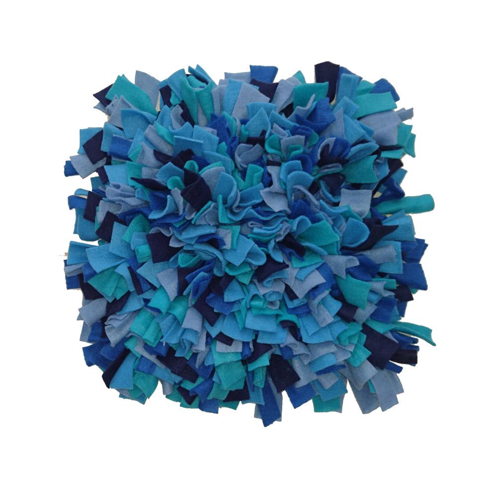 Schnüffelteppich, blau