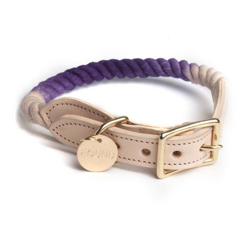 Found my Animal - Segeltauhalsband Purple Ombre