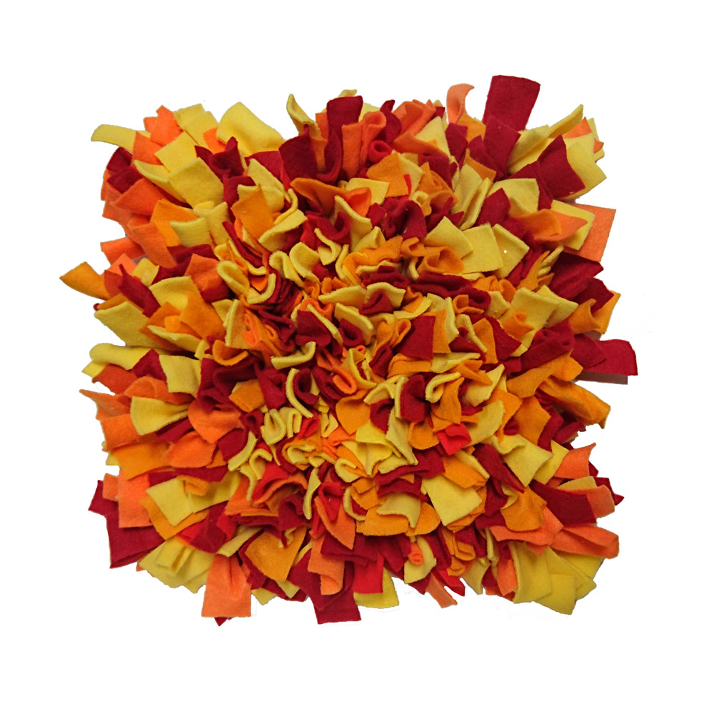 Schnüffelteppich, orange