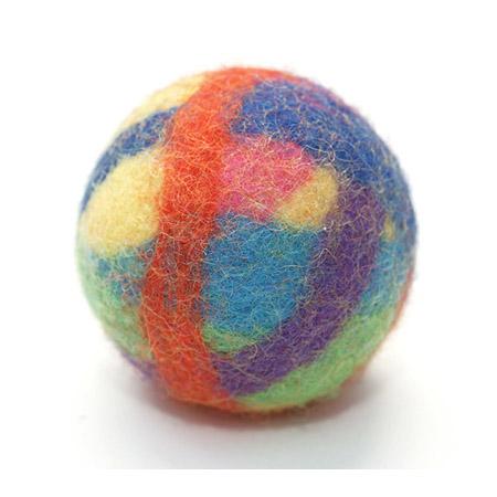 Katzenspielzeug Filz-Ball